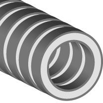 "Gray Flexi-Corr™  1-1/2"" Hose"