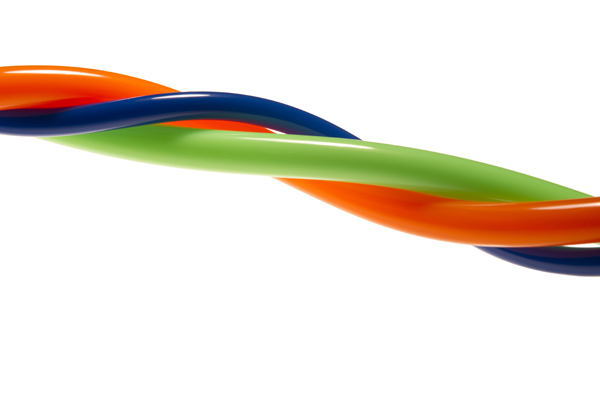 Flexible Multi-Colored Plastic Tubing